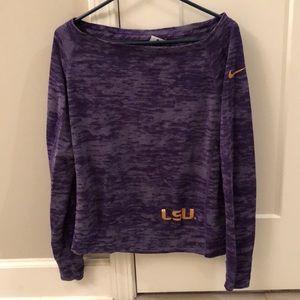 Women's small Nike sweatshirt purple w/gold letter